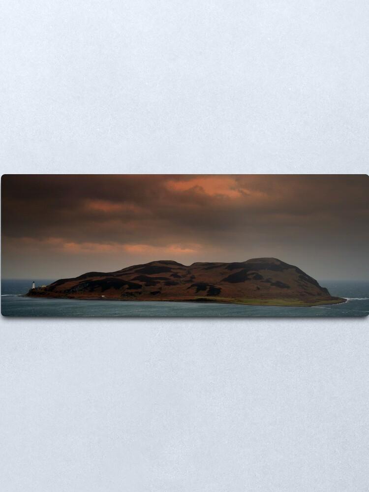 Alternate view of Island  Davaar Metal Print