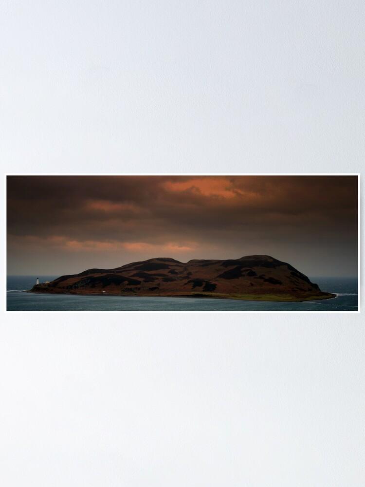 Alternate view of Island  Davaar Poster