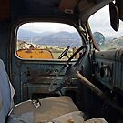 Inside The Old Truck by CarolM