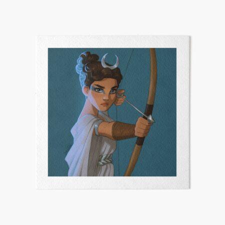 Artemis Art Board Print