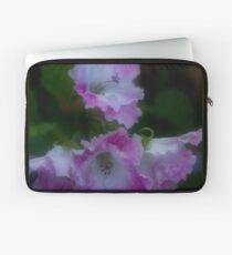 Pink and White Frills Laptop Sleeve