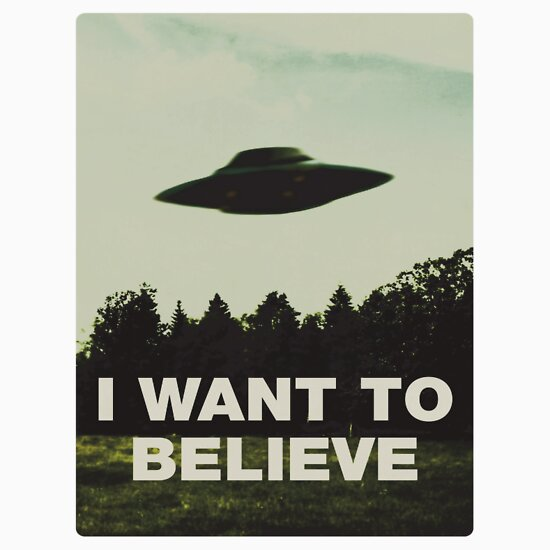 TShirtGifter presents: I Want to Believe   Unisex T-Shirt