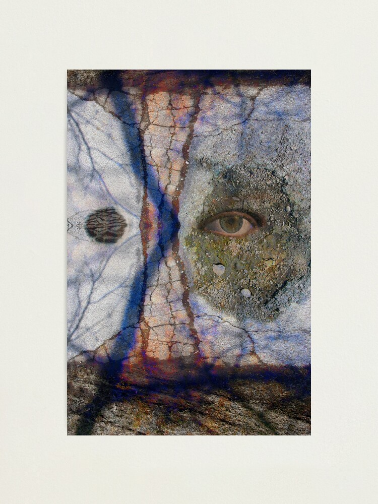 Alternate view of Emotional Disfiguration Photographic Print