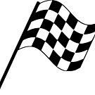 Checkered Flag by Tomás Antunes