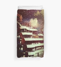 Full Moon Cruiser Duvet Cover