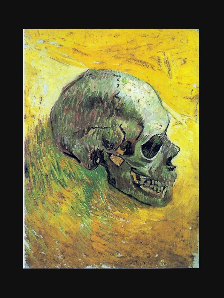 Vincent van Gogh Schädel von pdgraphics