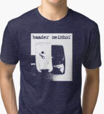 Baader Meinhof Luke Haines shirt Tri-blend T-Shirt
