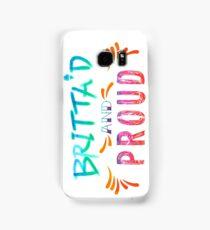 Community: Britta'd & Proud Samsung Galaxy Case/Skin