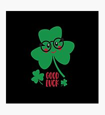 good_luck shirt Photographic Print