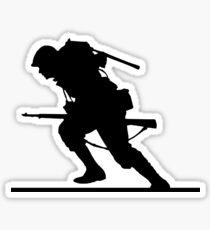 World War II Soldier Sticker