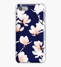 magnolia midnight iPhone Case/Skin
