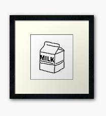 Milk Box Framed Print