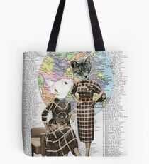 Evelyn and Polly Tote Bag