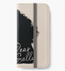 Dear Sally (Black Version) iPhone Wallet/Case/Skin
