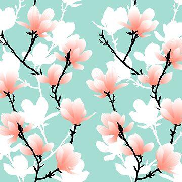Magnolien-Minze von youdesignme