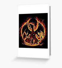 Fire Evolution Greeting Card