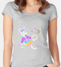 Boss Bunny - Going on a Trip Women's Fitted Scoop T-Shirt
