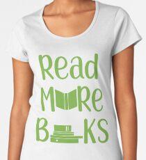 Book Lover Reading Shirt Women's Premium T-Shirt
