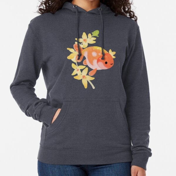 Ranchu and Forsythias 2 Lightweight Hoodie