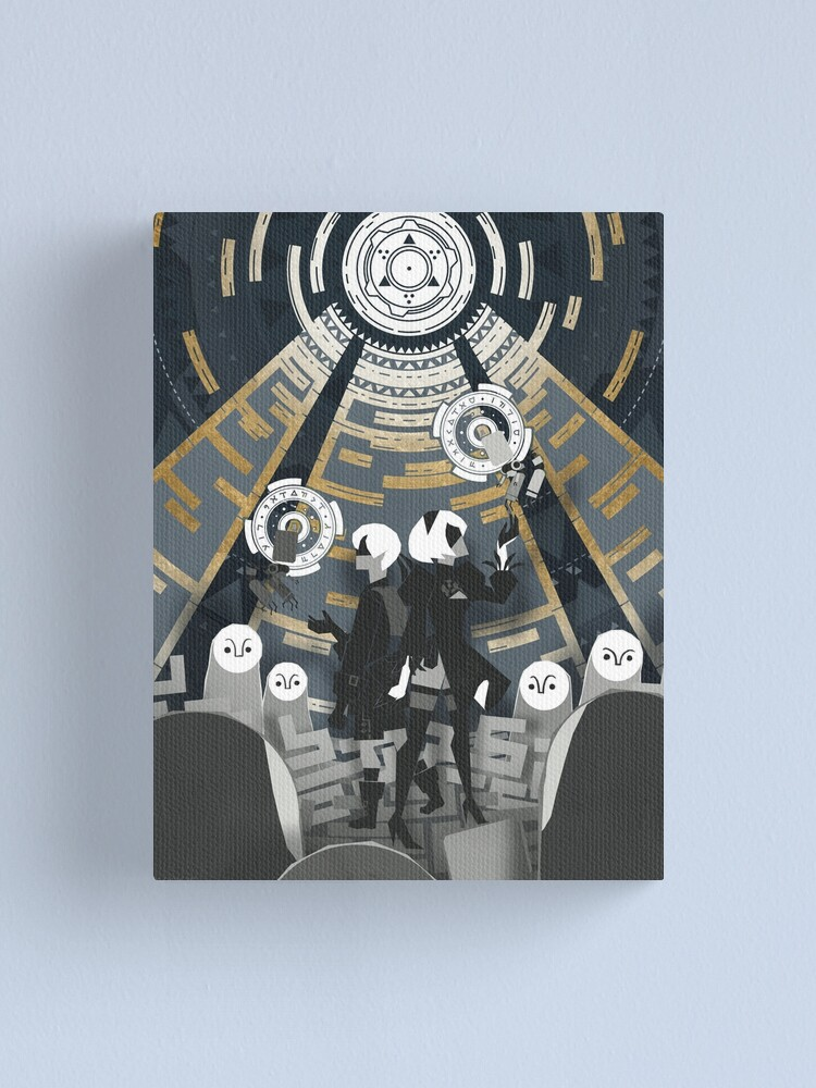 Alternate view of Nier: Automata Canvas Print