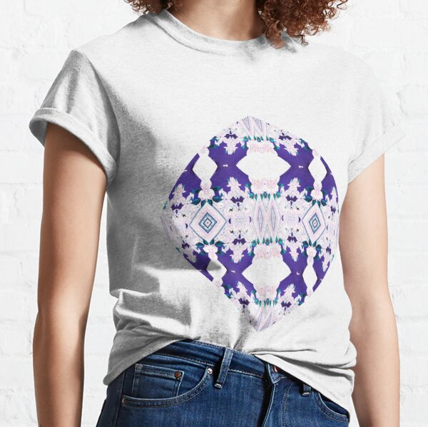 Symmetry, Tracery, weave, drawing, figure, picture, illustration, structure, framework Classic T-Shirt
