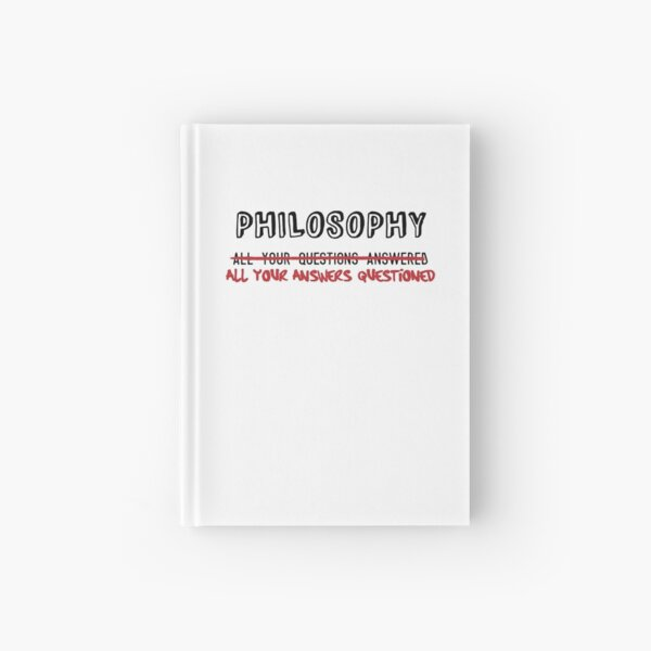 Philosophy: All Your Answers Questioned Hardcover Journal