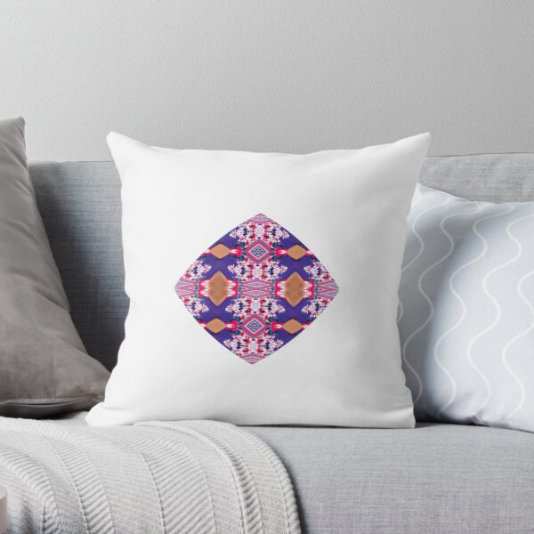 Figure, picture, illustration, structure, framework, composition, frame, texture Throw Pillow