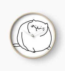 Fat Kitty Clock