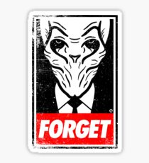 Obey The Silence Sticker