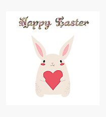 Easter - Happy Easter Photographic Print