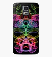 iPhone and Samsung Galaxy Phone Case/Skin Featuring Smoked Rainbow Design Case/Skin for Samsung Galaxy