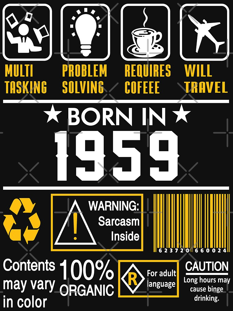 Birthday Gift Ideas - Born In 1959 by wantneedlove