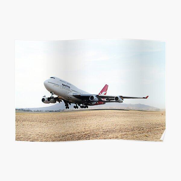 QANTAS  Boeing  747  Poster