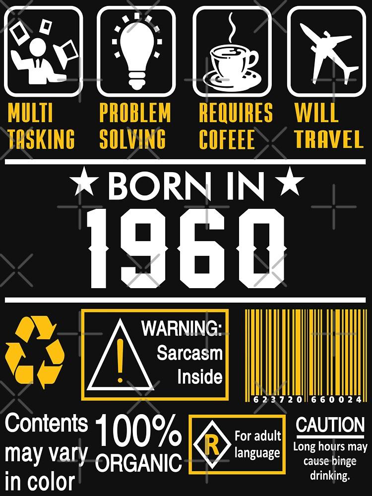 Birthday Gift Ideas - Born In 1960 by wantneedlove
