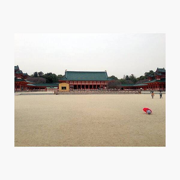 Heian Shrine, March 2013: Photo Friday at meauxtaku.com Photographic Print
