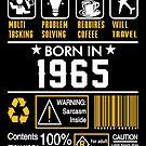 Birthday Gift Ideas - Born In 1965 by wantneedlove