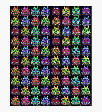 Color Backpacks Photographic Print
