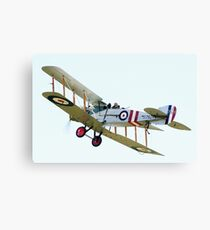 Bristol F2B  WW1  Fighter Aircraft Canvas Print