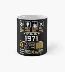 Birthday Gift Ideas - Born In 1971 Mug