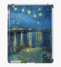 Starry Night Over the Rhone iPad Case/Skin