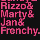 GREASE, PINK LADIES, Grease Is the Word,  Ampersand by thischarmingfan