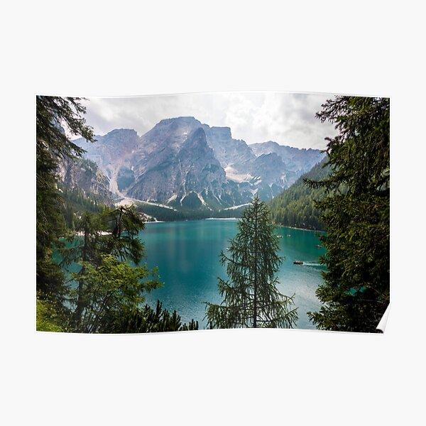 Lake of Braies Poster