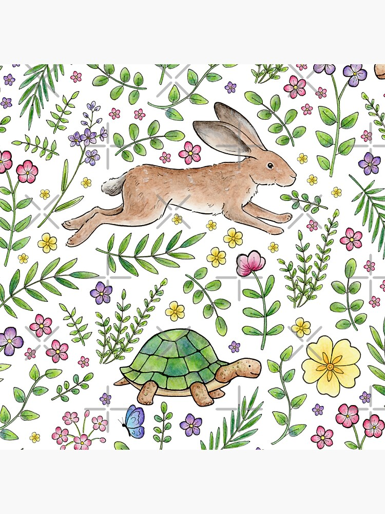 Spring Time Tortoises and Hares by HazelFisher