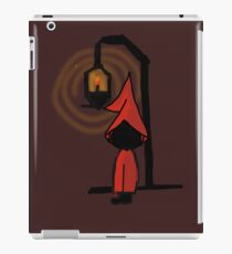 Spooky character at night iPad Case/Skin