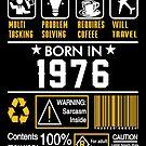 Birthday Gift Ideas - Born In 1976 by wantneedlove