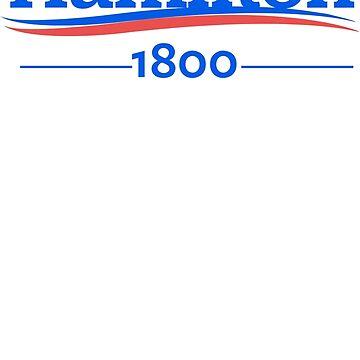ALEXANDER HAMILTON 1800 Burr Election of 1800 de yellowdogtees