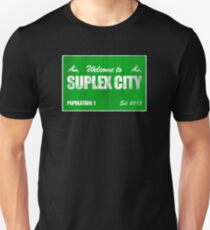 Welcome to Suplex City Pop 1 Unisex T-Shirt