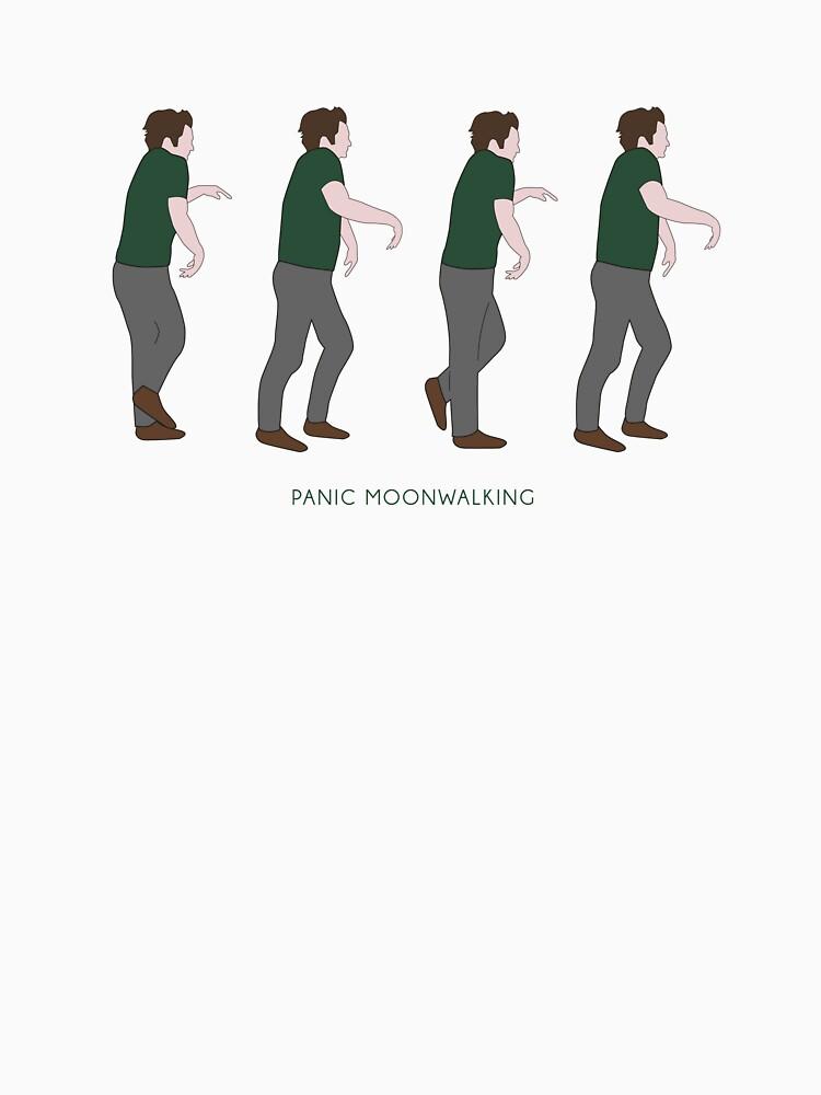 TShirtGifter presents: New Girl - Panic Moonwalking | Unisex T-Shirt