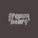 Frozen Heart by witandwhimsey