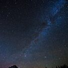 Mount Hood and Trillium Lake at night by Adam Nixon
